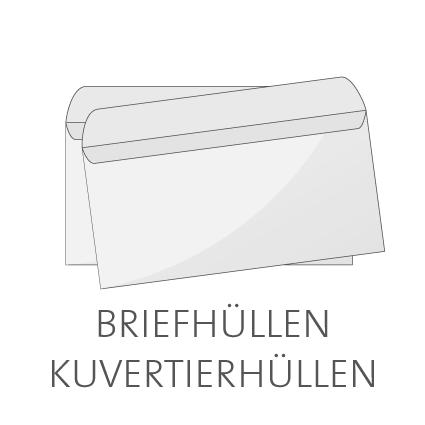 Briefhüllen und Kuvertierhüllen online drucken lassen
