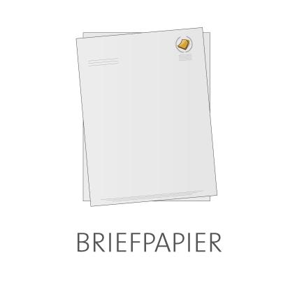 Briefpapier online drucken lassen