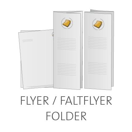 Flyer und Faltflyer online drucken lassen