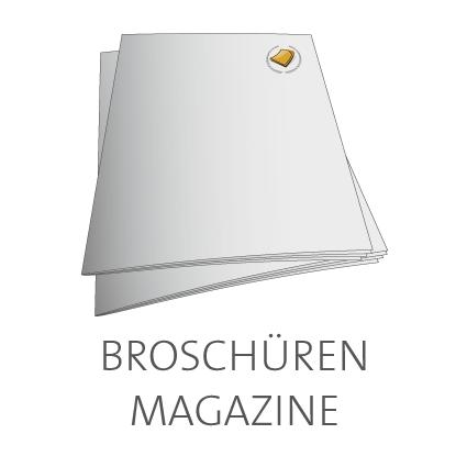 Broschüren und Magazine online drucken lassen