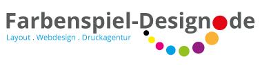 Farbenspiel-Design Logo
