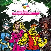 WIRmachenDRUCK auf der Comic Con Germany 2017 in Stuttgart