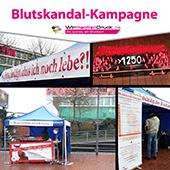 Sponsoring für die Blutskandal-Kampagne
