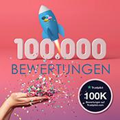 Trustpilot - 100.000 Bewertungen