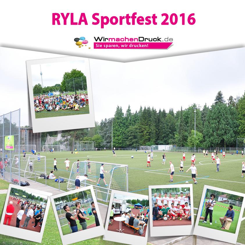 WIRmachenDRUCK unterstützte das RYLA-Sportfest 2016