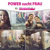 WIRmachenDRUCK unterstützt Power sucht Frau