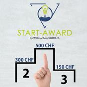 Die Gewinner des START Award von WIRmachenDRUCK.ch