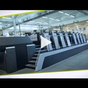Die Heidelberg Speedmaster XL 106 Druckmaschine