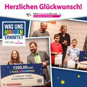 Die Gewinner des Erfinderwettbewerbs von WIRmachenDRUCK und Dein Spiegel
