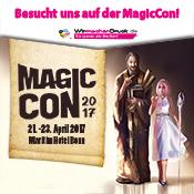 WIRmachenDRUCK ist auf der MagicCon 2017