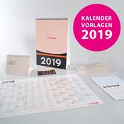 Kalendervorlagen 2019 von WIRmachenDRUCK