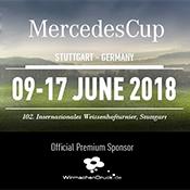 WIRmachenDRUCK beim MercedesCup