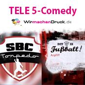 """WIRmachenDRUCK präsentiert """"Dit is Fußball"""""""