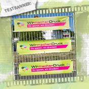 Wahre Zaunkönige - Wetterfeste Banner am Zaun