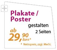 Plakate günstig gestalten lassen - xeaven.de - nur 29,90 Euro