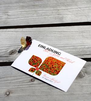 Einladungen drucken lassen bei www.deine-hausdruckerei.de