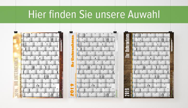 Tolle Kalendervorlagen für jedes Büro gibt es bei deine-hausdruckerei.de