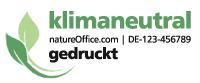 Musternummer von natureOffice