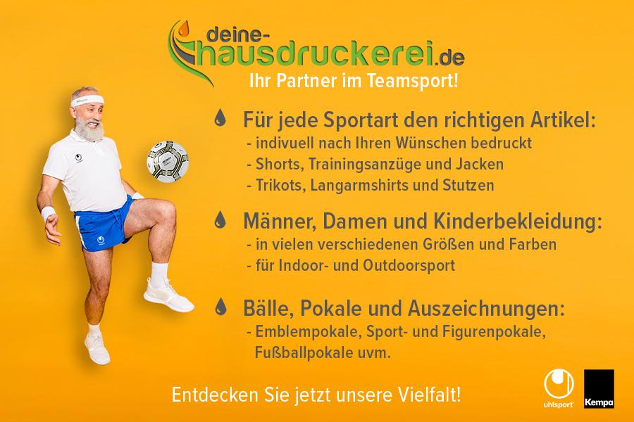 Günstig Trikot drucken bei deine-hausdruckerei.de