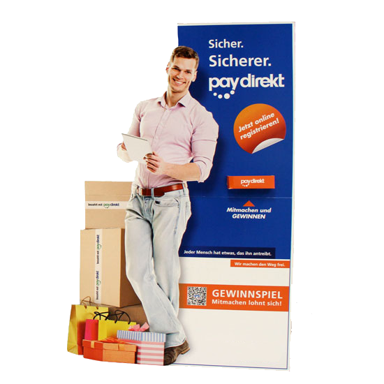 Standfiguren günstig bei www.deine-hausdruckerei.de drucken lassen