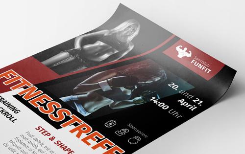 Veranstaltungs-Plakate drucken lassen günstig bei www.deine-hausdruckerei.de