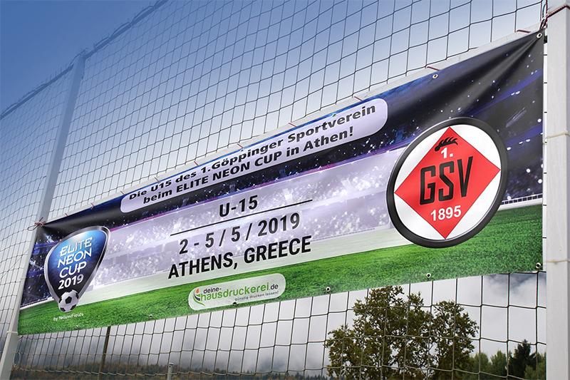 Banner drucken und Planen drucken für Werbung, auf Baugerüste und als Veranstaltungshinweis günstig drucken lassen bei www.deine-hausdruckerei.de
