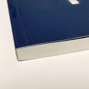Broschüren günstig drucken lassen mit Klebebindung - Broschürendruck bei deine-hausdruckerei.de