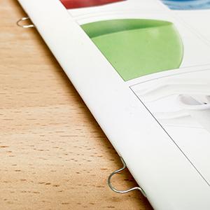 Broschüren günstig drucken lassen mit Ringösenheftung bei www.deine-hausdruckerei.de