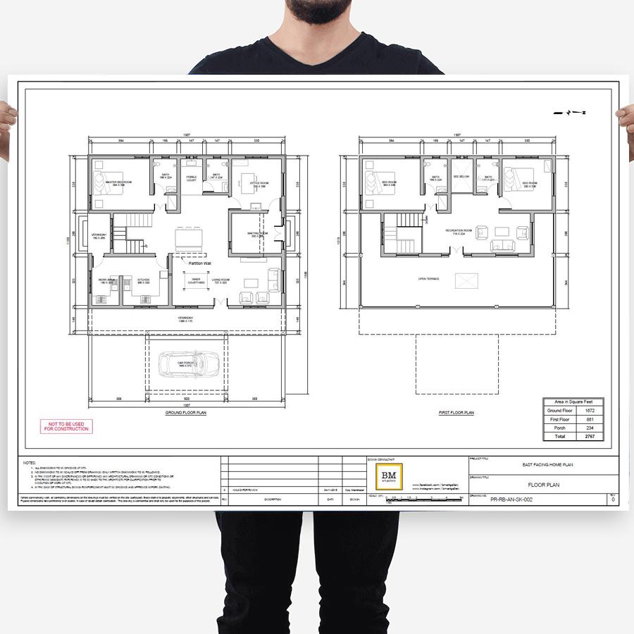 CAD-Pläne drucken lassen bei www.deine-hausdruckerei.de in Göppingen!