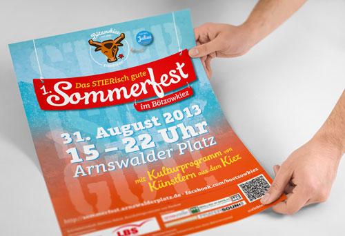 Poster und Plakate drucken lassen günstig bei www.deine-hausdruckerei.de