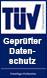 TÜV Geprüfter Datenschutz Logo