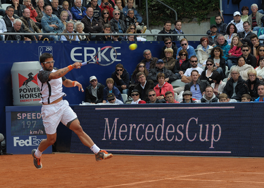 Gold Sponsor beim ATP-Turnier