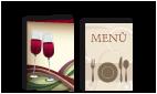 Speise- und Getränkekarten